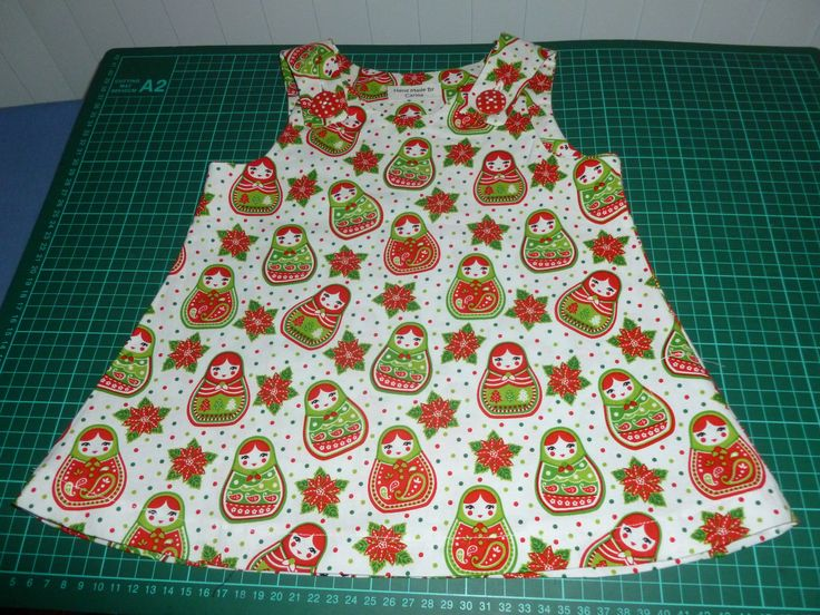 Babushka Christmas Dress