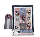 4 Piece Baby Crib Bedding Set Vintage Mickey Mouse - http://baby.goshoppins.com/nursery-bedding/4-piece-baby-crib-bedding-set-vintage-mickey-mouse/