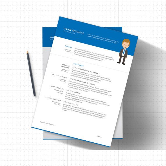 Download Free Template Resume CV
