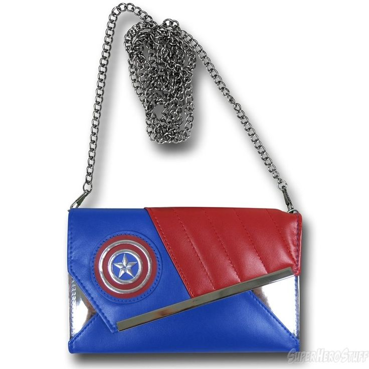 Captain America Women's Envelope Wallet