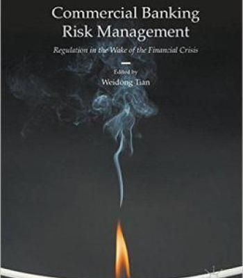 Commercial Banking Risk Management: Regulation In The Wake Of The Financial Crisis PDF