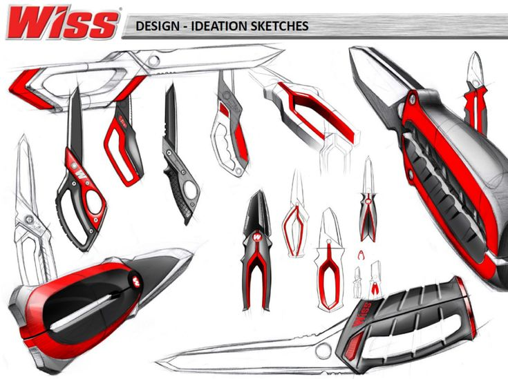 Wiss Shop Shears - by Sundberg-Ferar and Apex Tool Group, LLC / Core77 Design Awards