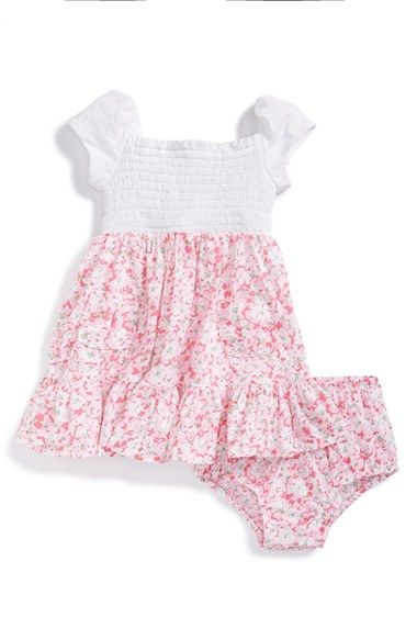 Ralph+Lauren+Floral+Dress+&+Bloomers+(Baby+Girls)+available+at+#Nordstrom
