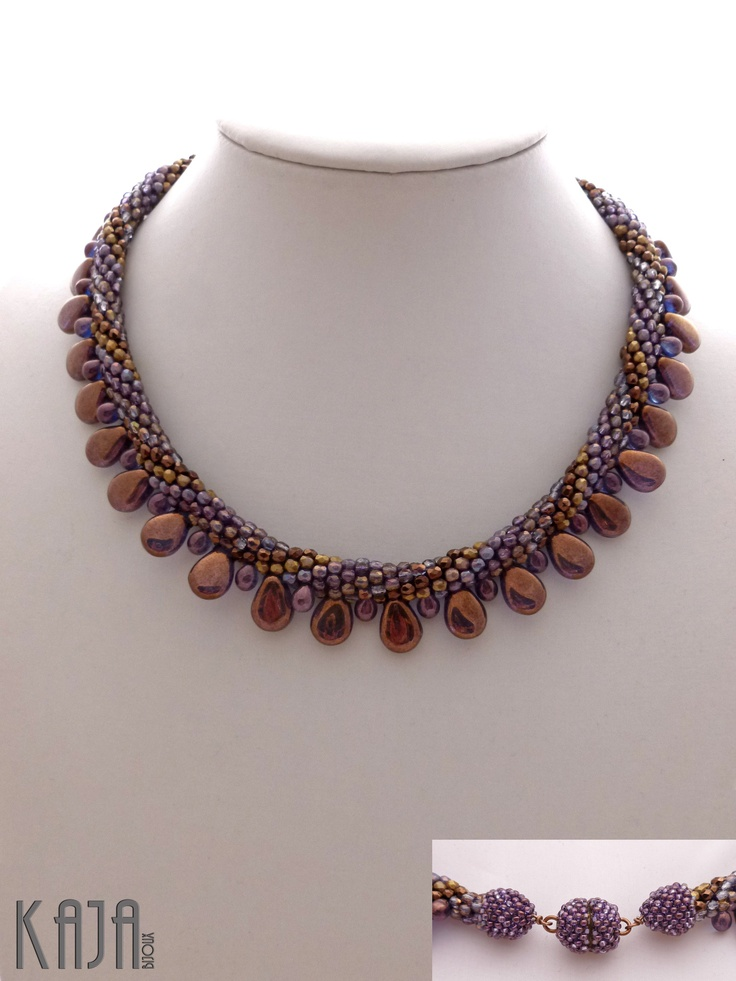 123 best images about beading crochet on pinterest for Acorn necklace craft