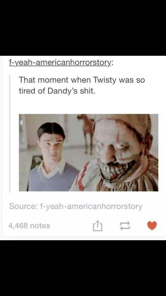 Dandy is actually my favorite character from freak show