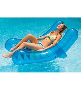 Swimline Rocker Lounger: Lounges Chairs, Inflatable Swim, Floating Lounges, Rockers Lounger, Swim Pools, Pools Stuff, Pools Floating, Pools Lounges, Swimlin Rockers