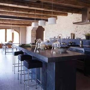 barn conversion, kitchen