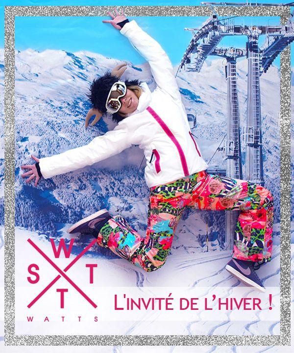 Vêtement de ski #watts#carlabikini