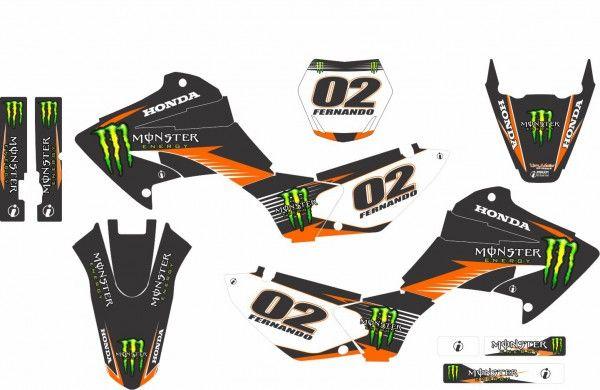 Adesivos   Imagem Graphics - Adesivos personalizados para motos off-road