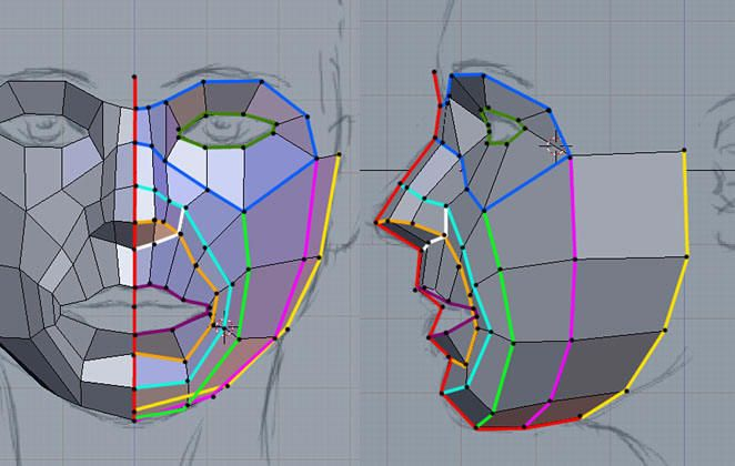 Questions about Face & Body Topology: Need Advice - Polycount Forum