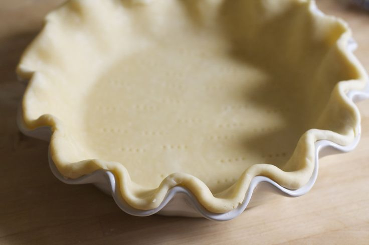 Perfect Pie Crust! The food processor makes this dough fast and easy to make, and for me it has been a success every single time. In my opinion, a flaky crust made with real butter takes any pie recipe over the top.