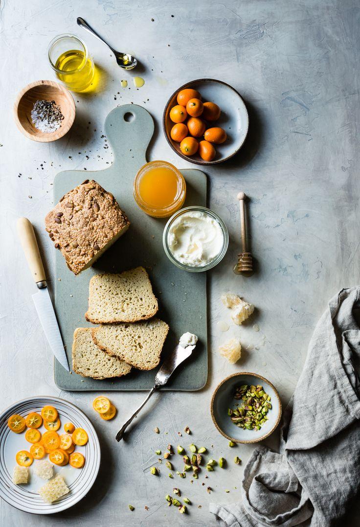 Kumquat Honeycomb Tartines