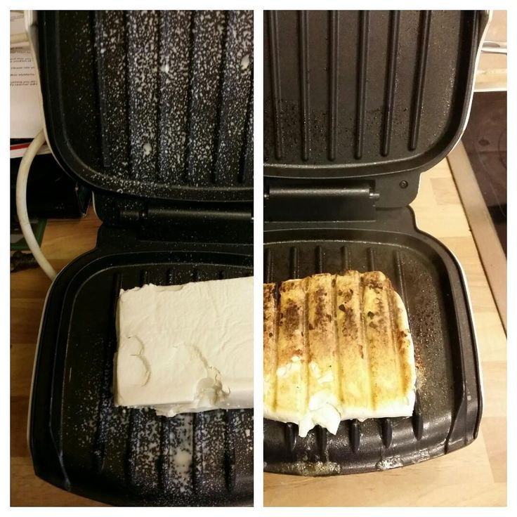 """""""This is the way to cook tofu everyone. George foreman squeezes, cooks and dehydrates in 10 minutes flat. And it tastes awesome #vegan #tofu #veggie…"""""""