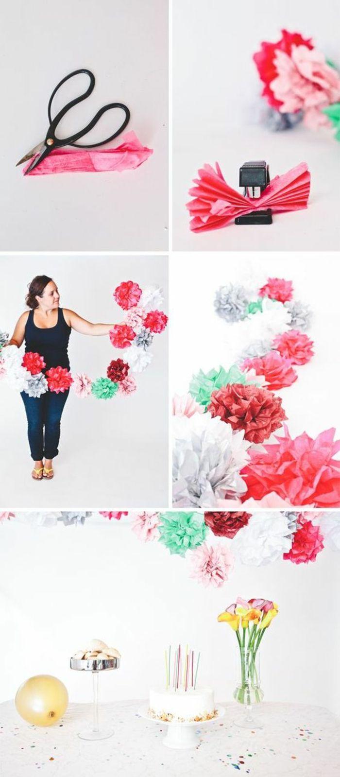 die besten 25 krepppapier ideen auf pinterest krepp papier handwerk papierblumenkugel und. Black Bedroom Furniture Sets. Home Design Ideas