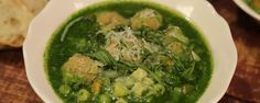 Spring Minestrone Soup with Turkey Meatballs Recipe by Clinton Kelly and Carla Hall | The Chew - ABC.com