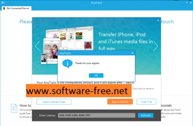 anytrans free trial download