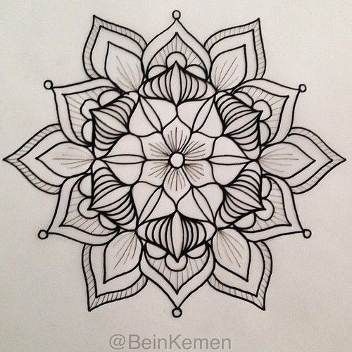 Maybe with color in the center then fading to no color