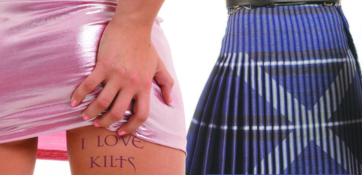 Available to buy or hire at The Kilt Centre in Hamilton