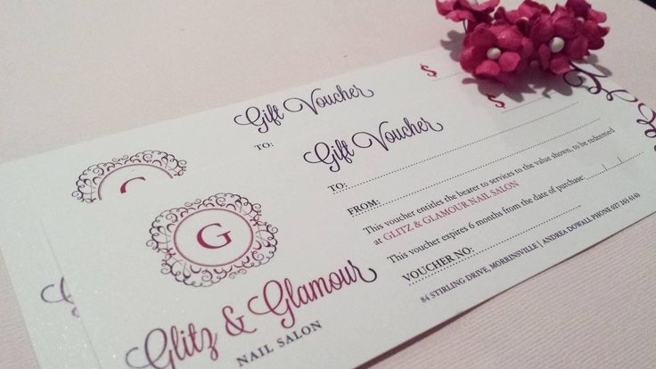 Gift Vouchers designed by Imagine If Creative Studios