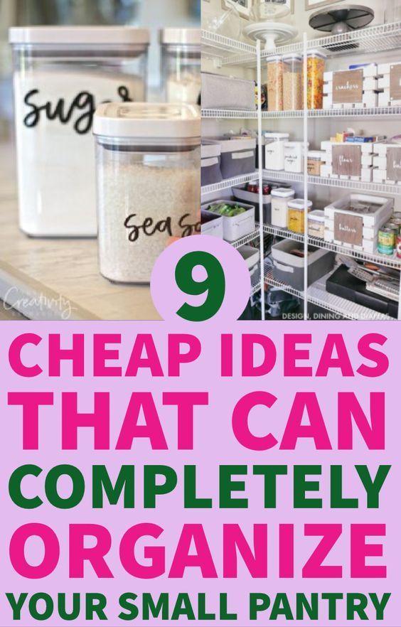 9 Brilliant Small Kitchen Pantry Organization Ideas That\u0027ll Save You