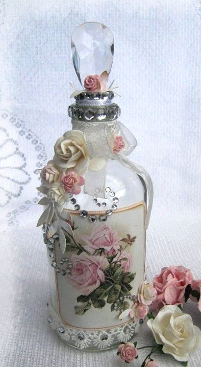 Decorated bottle  ♥  (410x750)