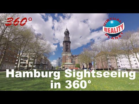 [360°-Video] Hamburg Sightseeing Tour - YouTube