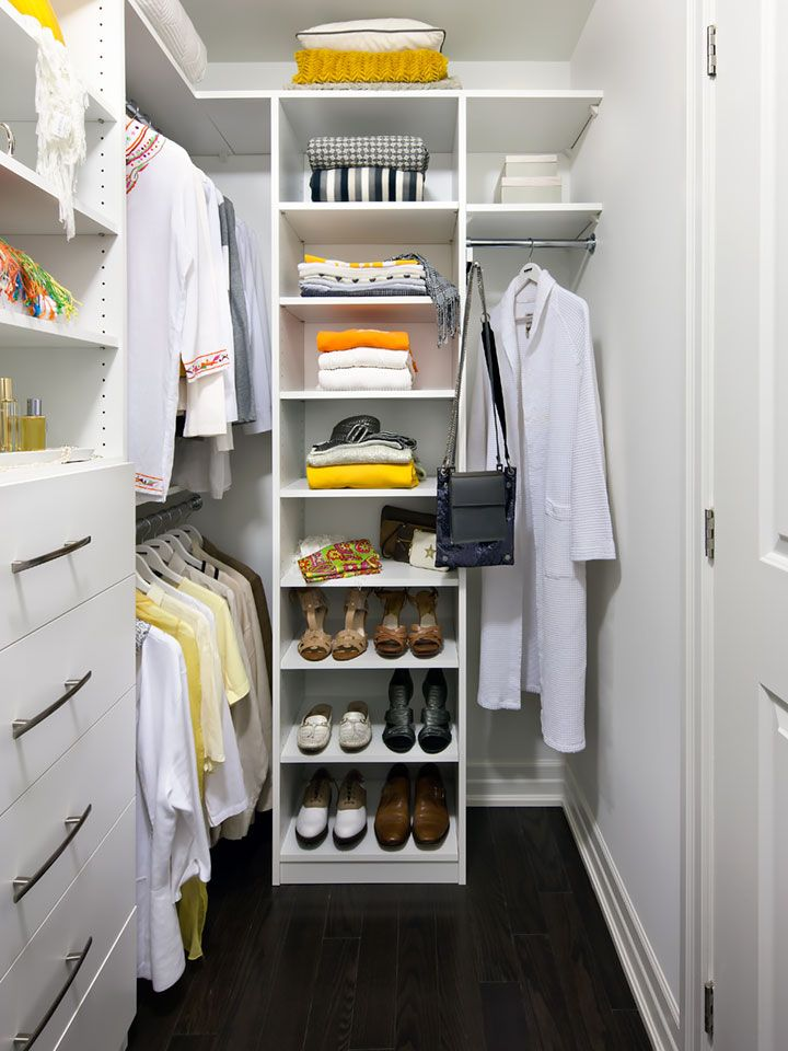 Classic Line Of Closet Organizers. Perfect For Condos And Small Spaces.