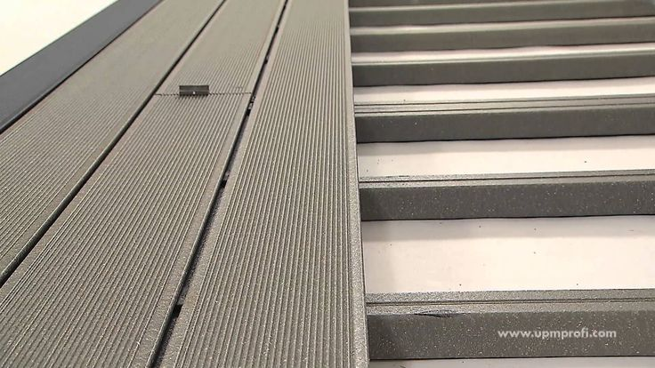 How to install UPM ProFi Deck composite terrace correctly. Watch the video or learn more about installing composite decking at www.upmprofi.com/WPC-Installation