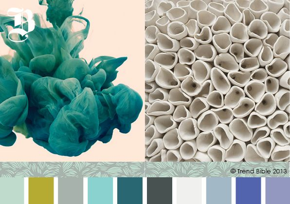 Trend Bible AW 13/14 Submerged: Colors Trends, Home Interiors, Autumn Winter, Winter Home, Interiors Trends, Diy Wall Art, Colors Diy, Submerged Colors, Colors Inspiration