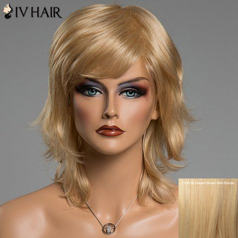 GET $50 NOW | Join RoseGal: Get YOUR $50 NOW!http://www.rosegal.com/human-hair-wigs/fluffy-natural-wavy-siv-hair-677210.html?seid=4695937rg677210