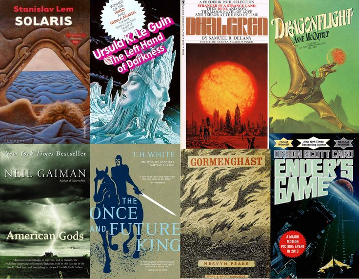 50 Sci-Fi/Fantasy Novels That Everyone Should Read-- have NOT reviewed this list, but am always up for adding to my to-read list.