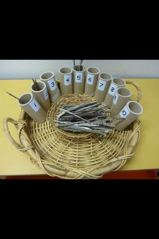 Students could use sticks found on the ground in the Indigenous environment to count. It is an easy way to introduce the environment into the classroom in the lower levels.