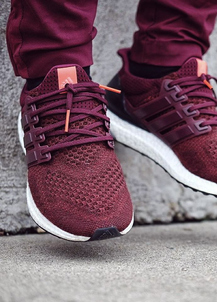 Adidas Ultra Boost - Burgundy - 2016 (by Felipe OB)