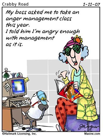 Maxine On Anger Management