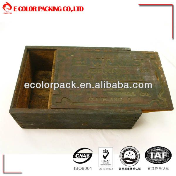 cheap small wooden gift boxes wholesale rustic wooden box $0.5~$0.8
