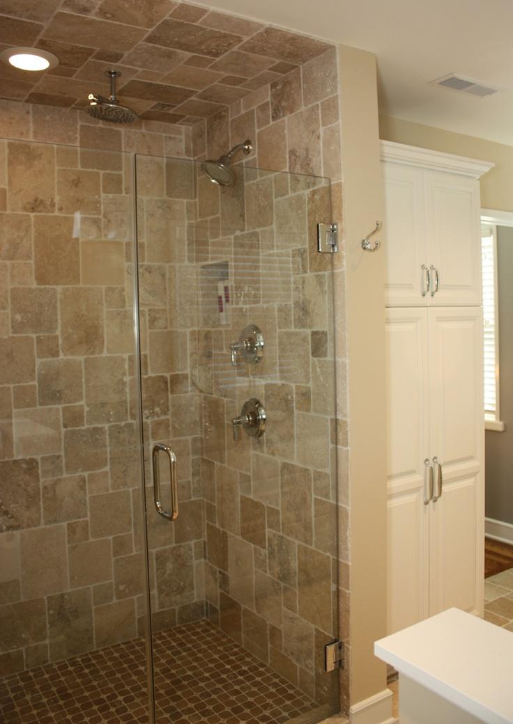 Bathroom Design By Matthew Krier Of Design Group Three Travertine Tile Granite Tops