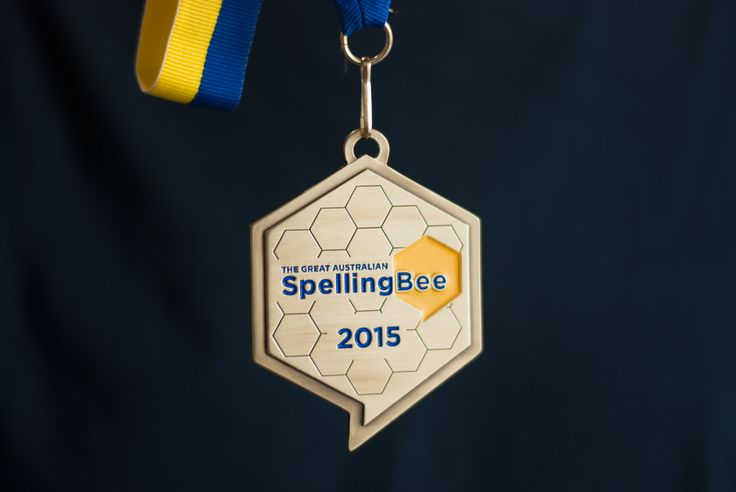 The Great Australian Spelling Bee medal #design #award