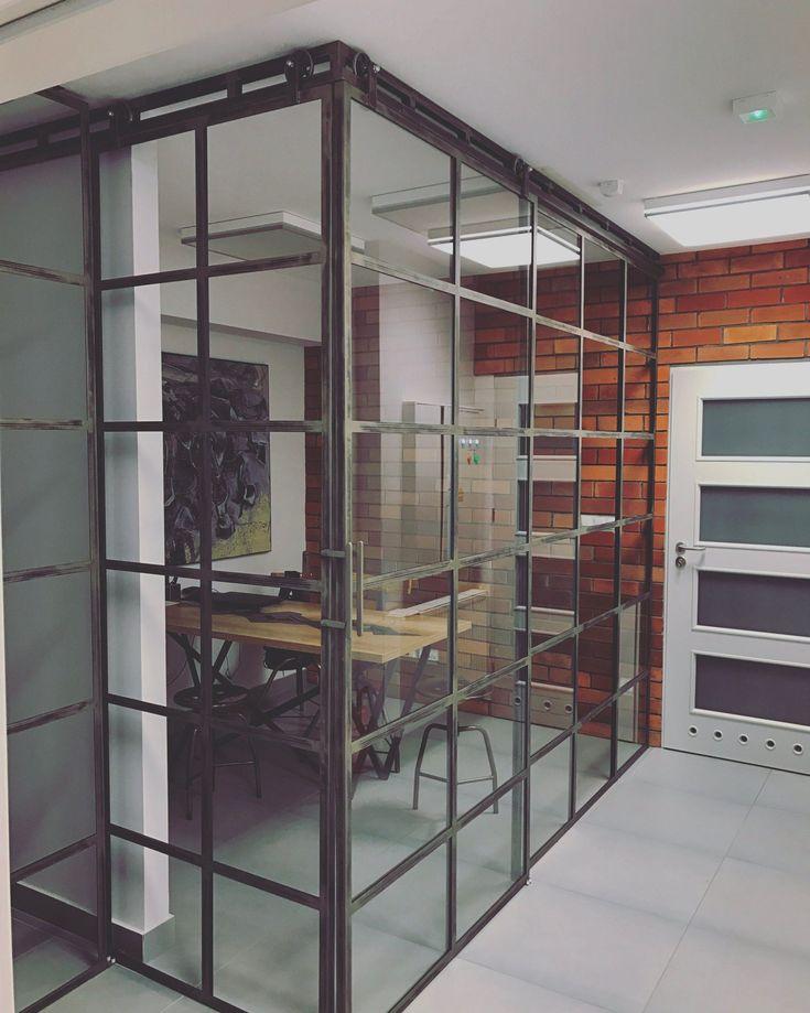 Drzwi industrialne szklane Icon Loft - Icon Concept