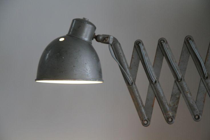 vintage schaarlamp