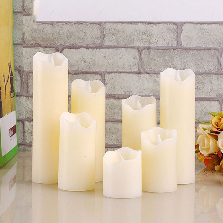 free shipping flameless uneven edge electrical paraffin wax led candle for wedding holiday home decoration lovely night light-in Candles from Home, Kitchen & Garden on Aliexpress.com | Alibaba Group
