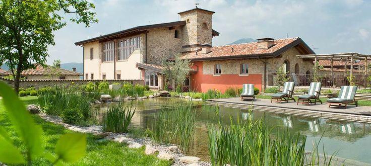 Biohotel und Boutiquehotel unweit vom Gardasee mit Bio Pool, Bio Breakfast in einen alten Bauerhaus