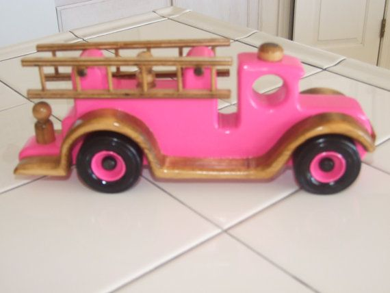 Free Wooden Toy Fire Truck Plans