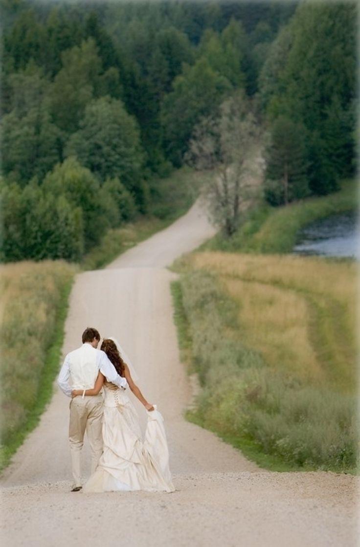 16. The Walk – 44 #Amazing Wedding Photography #Ideas to Copy … → Wedding #Wedding