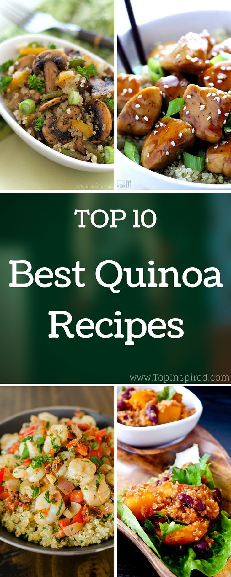 This delicious grain is high in protein and lacks gluten too, so, it is a perfect choice for everybody and it is good for every healthy diet. #Quinoa #Recipes