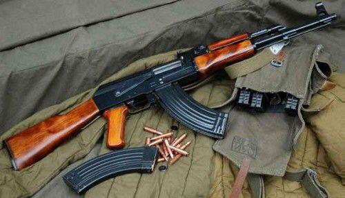 4. Kalashnikov AK-47 Assault Rifle
