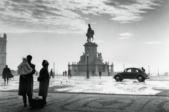 António Sena da Silva, Sem Título, 1956-1957. Terreiro do Paço. Lisboa