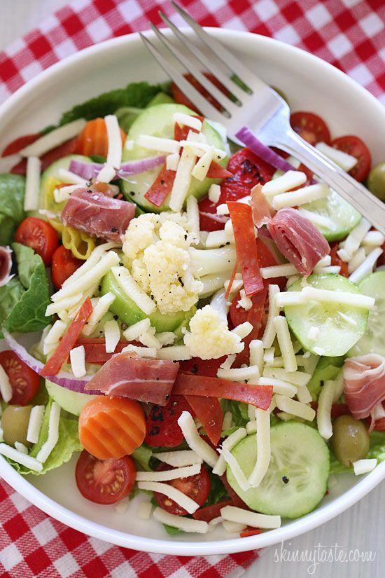 Italian Antipasto Salad | Skinnytaste