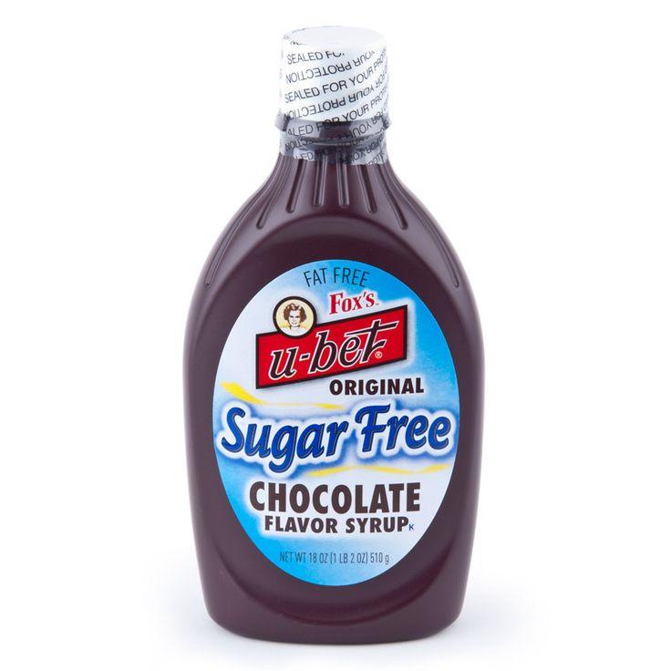 Fox's U-Bet Sugar Free Chocolate Syrup
