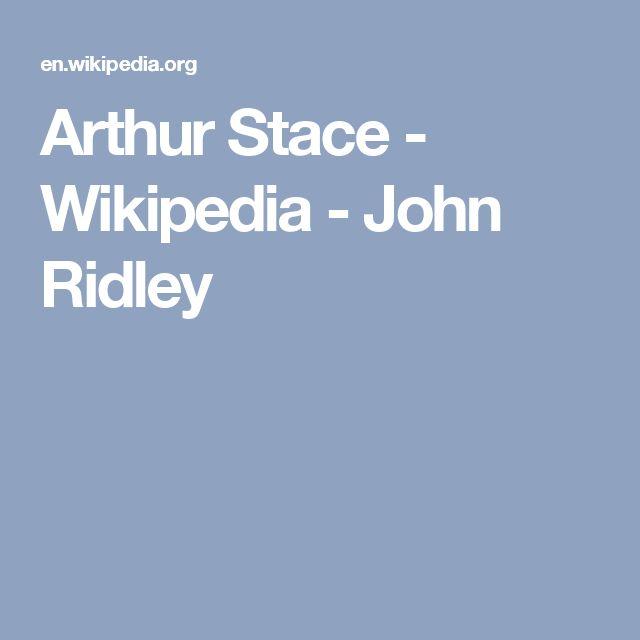 Arthur Stace - Wikipedia - John Ridley