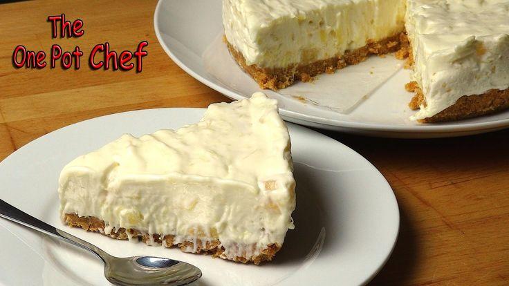 DELICIOUS & Sooooo Easy To Make No Bake Pineapple Cream Cake!